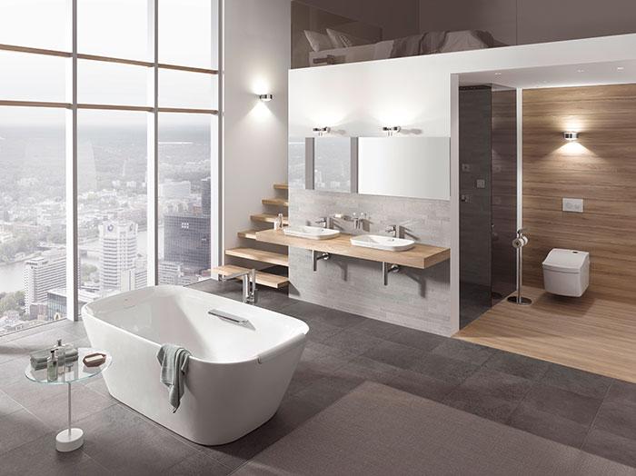 Thiết bị vệ sinh TOTO cho phòng tắm hiện đại